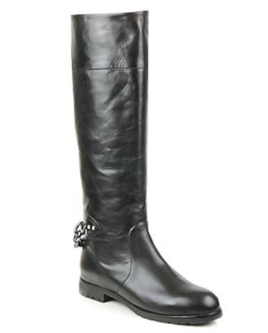 Čierne čižmy Marc Jacobs