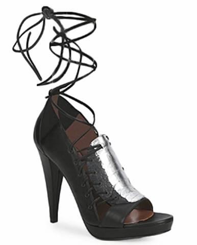 Čierne sandále Sigerson Morrison