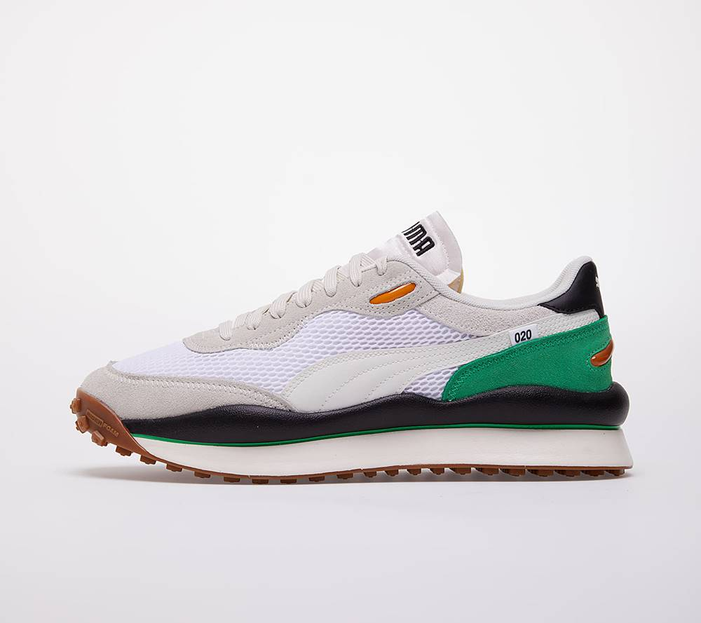 Puma Puma Style Rider Stream On Puma White