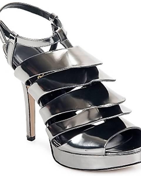 Strieborné sandále Jerome C. Rousseau