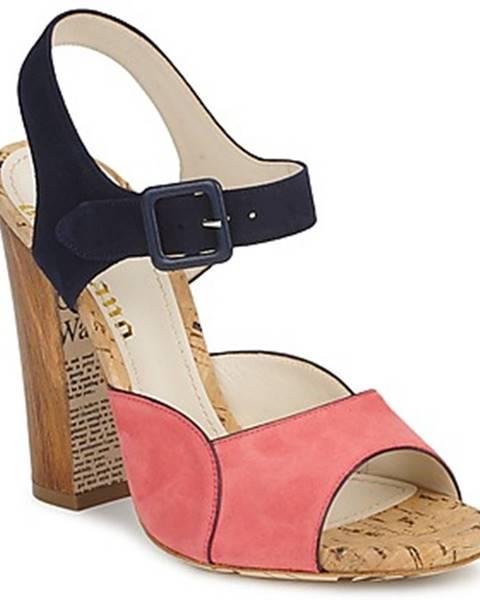 Ružové sandále John Galliano