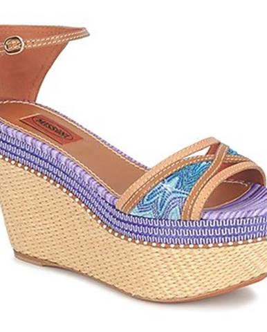 Modré sandále Missoni