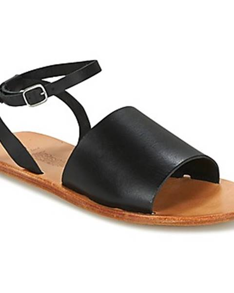 Čierne sandále n.d.c.