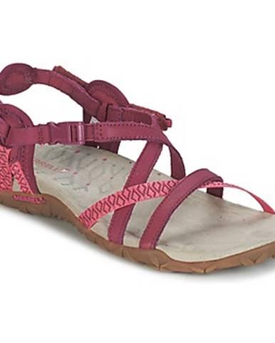 Ružové športové sandále Merrell