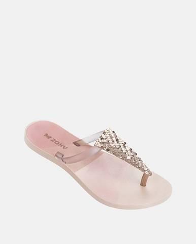 Ružové papuče Zaxy