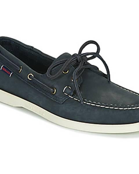 Modré topánky Sebago