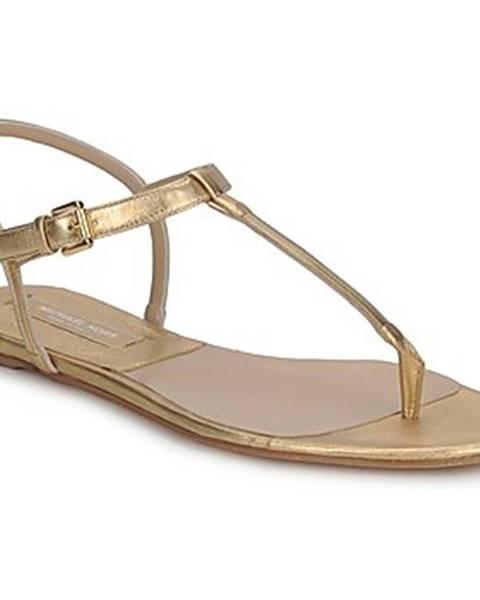 Zlaté sandále Michael Kors