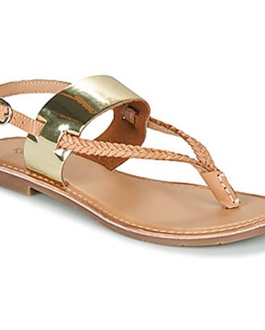 Zlaté sandále Kickers