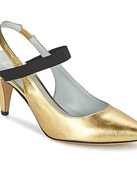 Zlaté lodičky Marc Jacobs