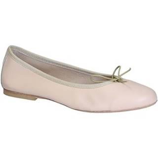 Balerínky/Babies Leonardo Shoes  6087 NAPPA NUDE