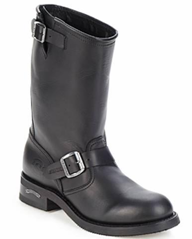 Čierne polokozačky Sendra boots