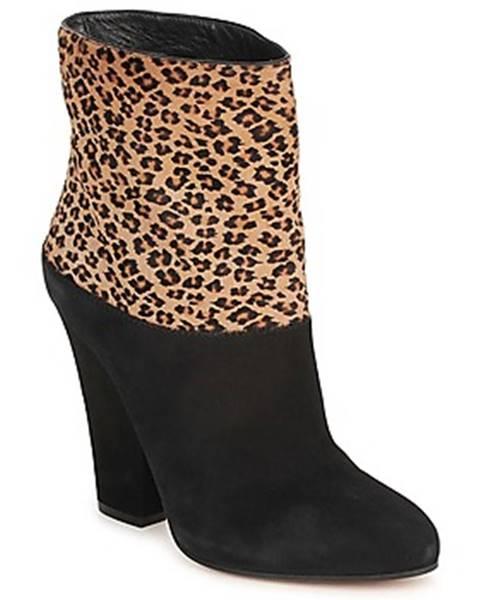 Čierne topánky Sebastian