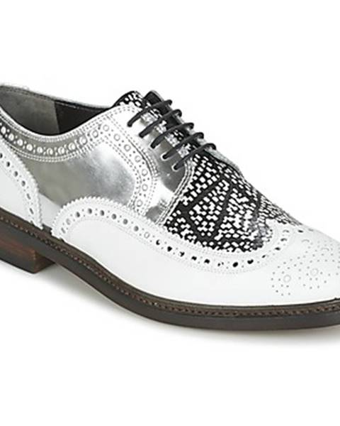 Biele topánky Robert Clergerie
