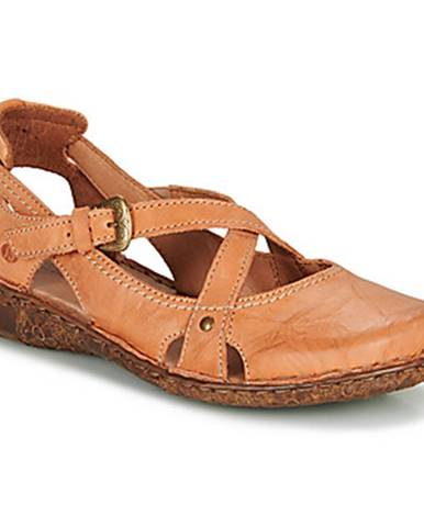 Oranžové sandále Josef Seibel