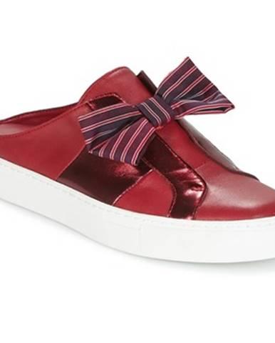 Bordové topánky Katy Perry