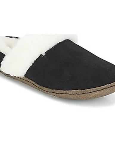 Čierne papuče Sorel