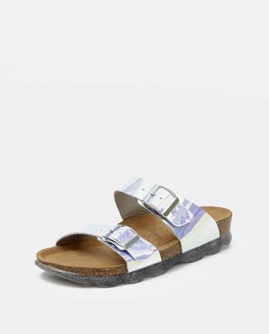 Strieborné papuče OJJU