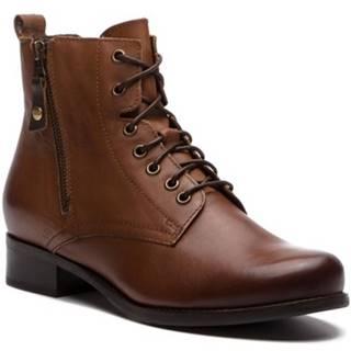 Šnurovacia obuv Lasocki 70174-11BIG koža(useň) lícová