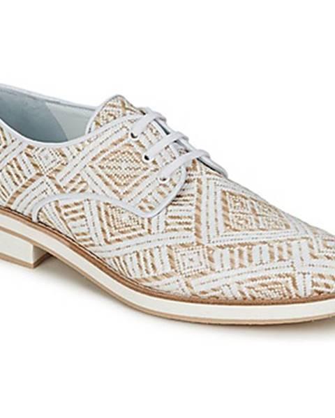 Biele topánky Stéphane Kelian