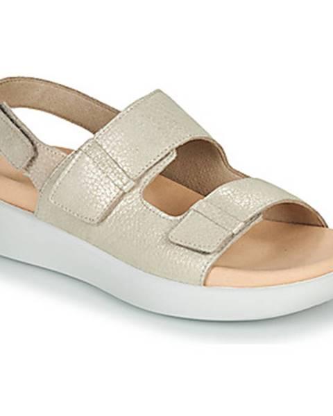 Béžové sandále Romika Westland
