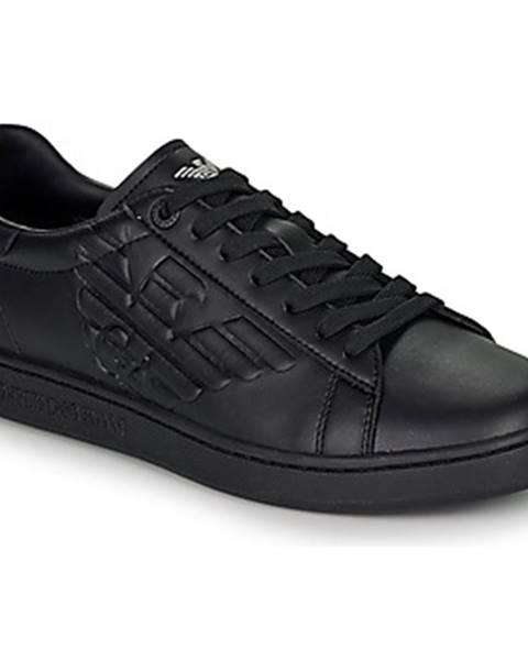 Čierne tenisky Emporio Armani EA7