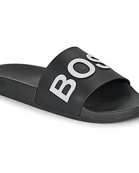 Čierne topánky BOSS