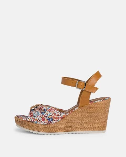 Modré topánky Tamaris