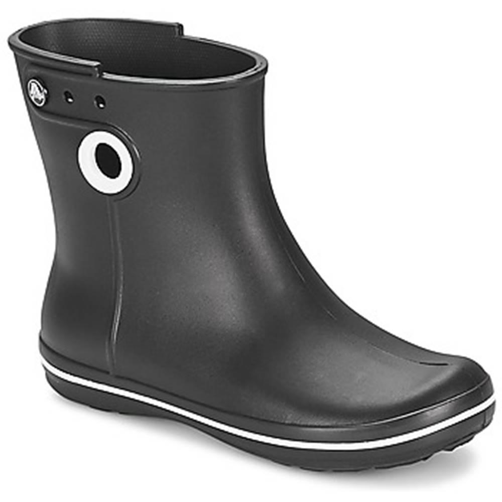 Crocs Čižmy do dažďa Crocs  JAUNT SHORTY BOOT W-BLACK