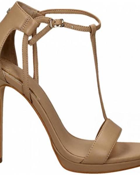 Ružové sandále Guess