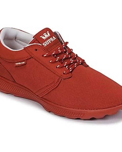Červené tenisky Supra