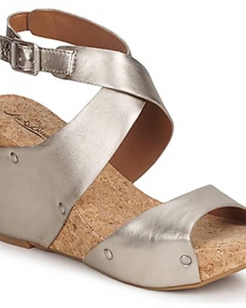 Zlaté sandále Lucky Brand
