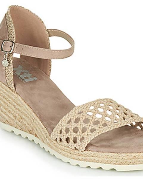 Béžové sandále Xti