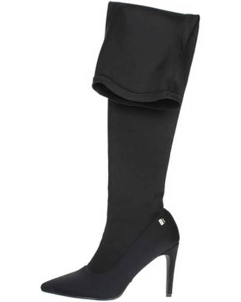 Čierne čižmy Laura Biagiotti