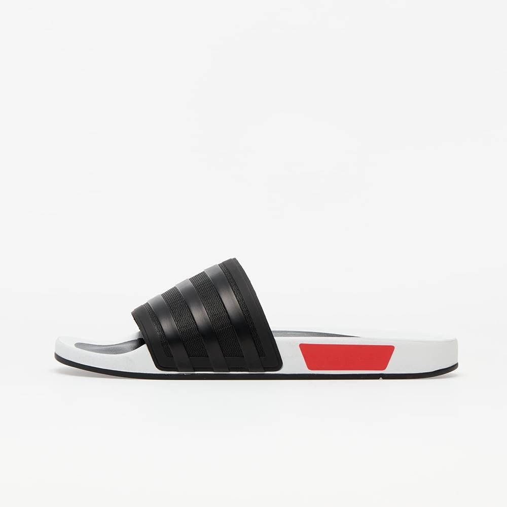 adidas Originals adidas Adilette Premium Core Black/ Lust Blue/ Lust Red