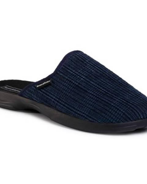 Tmavomodré papuče Home&Relax